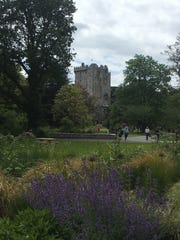 Blarney Castle and its gardens.