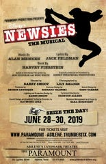 """Newsies"" opens next weekend at the Paramount Theatre in Abilene."