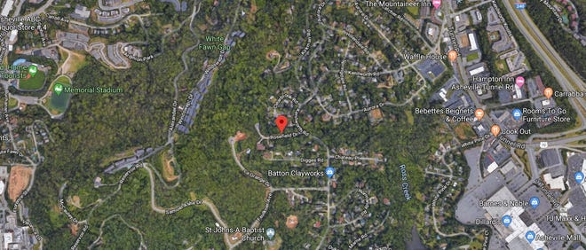 Police are investigating what they said was a purposefully set truck explosion on June 16, 2019, near the top of Beaucatcher Mountain.