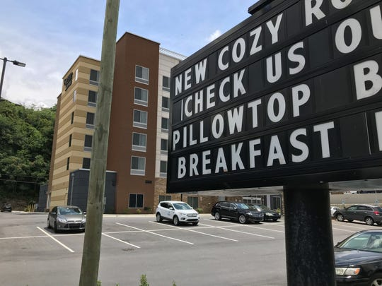 Policies on allowing local residents to rent at a local hotel varies. No state law banning rentals to locals is in play.