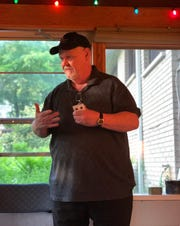 Magician Ron Carnell performs the first trick he ever learned, the one that tricked him into a new career. Hear his story at the next Mosaic Storytelling Showcase on June 27.