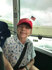 "Dottie Byrne, 73, from Vero Beach sees religion, namely Franklin Graham (Billy's son) as a major driver of support for Trump. It's also a factor that led her and five neighbors to become activists was Corey Lewandowski''s book ""Trump's enemies."""