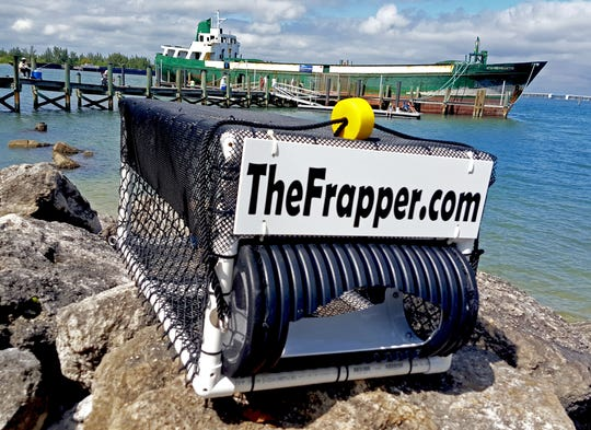 Four experimental fish attraction devices developed by Bob and Maria Hickerson of Vero Beach, who invented The Frapper, will be placed on the deck of the CCA / BCT Artificial Reef deploying June 23.