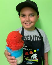 Gio's Italian Ice in Viera serves ice cream, ices and gelati. Just ask Gio Germano.