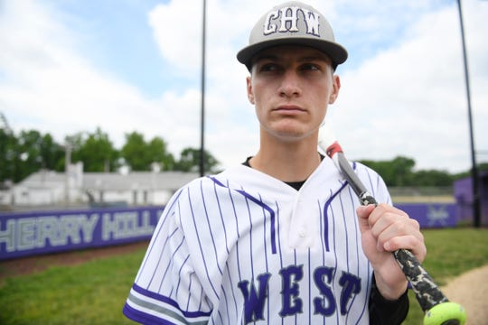 Cherry Hill West's Scott Shaw is the South Jersey baseball Player of the Year.