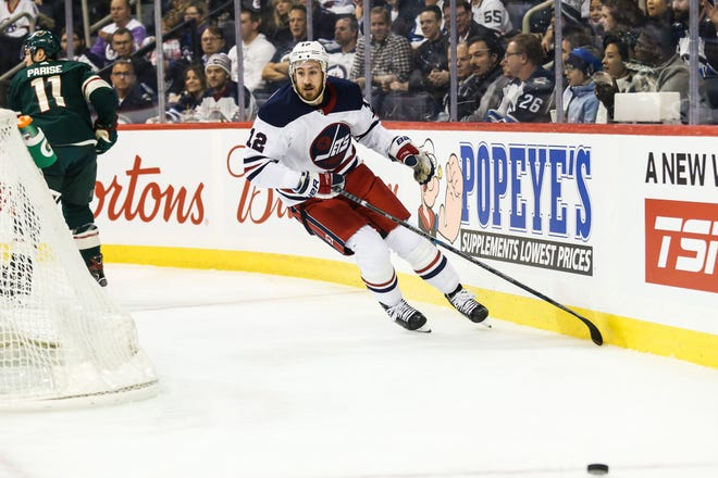 Kevin Hayes had five goals and 13 points in 20 games with the Winnipeg Jets this season after a trade deadline deal with the New York Rangers.