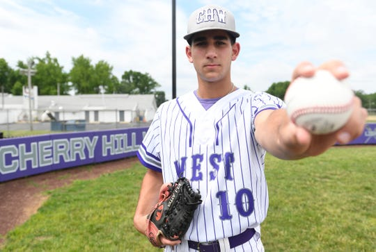 Cherry Hill West's Eli Atiya is the South Jersey baseball Pitcher of the Year.