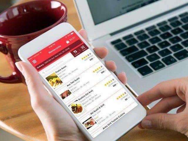 DoorDash, Grubhub, Postmates, Uber Eats: Ranking food