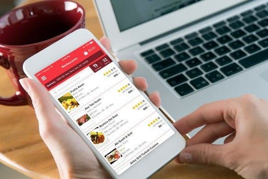 Grubhub is one of the most used food-delivery apps.