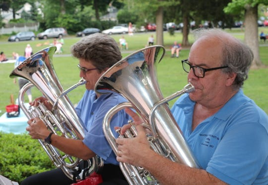 Westfield Community Concert Band will present free concerts Wednesdays through July 18 at Mindowaskin Park.
