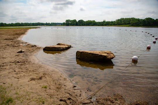 Following years of renovation, officials expect more than 1 million people will now visit Easter Lake each year — more than double the 400,000 visitors it averaged before the cleanup.