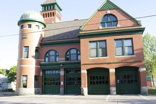 Manistee Fire Station in Michigan