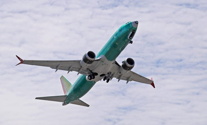 FILE -  The company announced at the Paris Air Show on Tuesday, June 18 that International Airlines Group signed a letter of intent for 200 Boeing 737 aircraft.