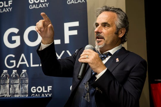 Golf personality David Feherty appearsJune 27 at the Fox Theatre, the same day the inaugural Rocket Mortgage Classic begins at Detroit Golf Club.