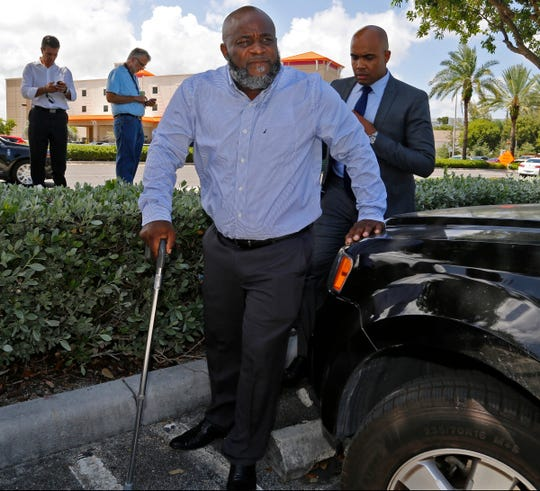 Healthcare professional Charles Kinsey was shot by a North Miami police officer on July 18, 2016, while trying to protect an autistic patient.