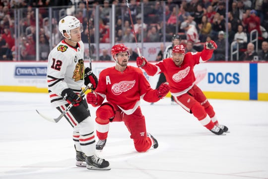 The Red Wings open their 2019-20 preseason schedule with back-to-back games against the Blackhawks.