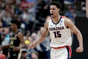 Brandon Clarke averaged 16.9 points and 8.6 rebounds at Gonzaga this past season.