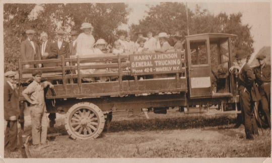 Brothers Harry and Henry Henson, of Waverly, started an annual family reunion tradition in 1917.