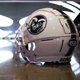 Colorado State football team unveils new helmet for homecoming