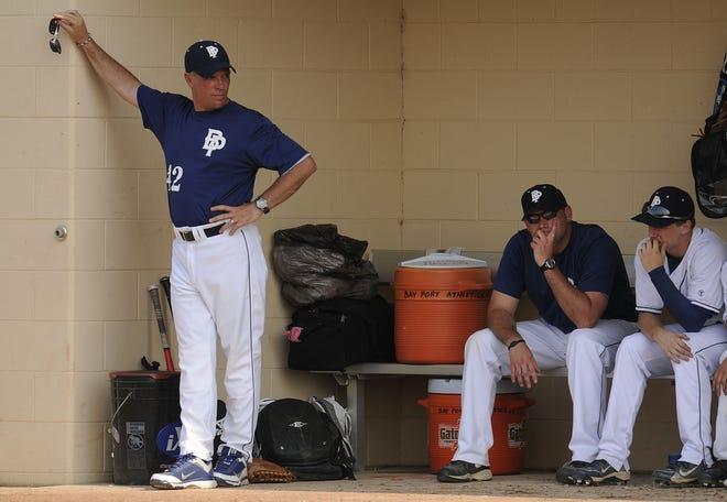 Bay Port baseball coach Mike Simoens (42) has stepped down after 26 seasons.