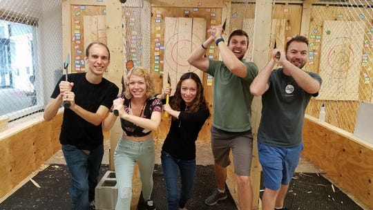 Happy Axe Throwing in Madison is expanding to Green Bay with a location expected to open in mid-July.