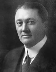 Clarence H. Geist, former owner of the Indianapolis Water Company and Geist Reservoir namesake.