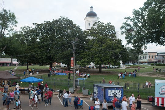 A grilling competition, live music, kids activities and more on the Canton Square July 5 is part of the Mississippi Championship Hot Air Balloon Fest.