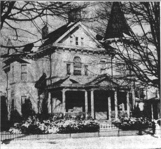 This home at 419 E. Main St. was built by Edward DeLancy in 1899. It was purchased in 1962 to become The Jane Stewart Home for Women. This photo appeared in the E-G on Jan. 25, 1963.