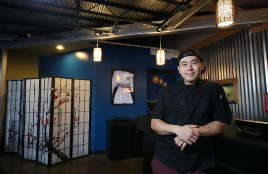 Jonathan Ham is the owner/chef of the Ramen House.  The restaurant is inside the Mid City Mall.