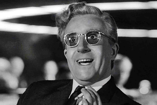 Peter Sellers in Dr. Strangelove at the Louisville Palace Summer Classic Movie Series