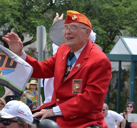 """Medal of Honor winner Hershel """"Woody"""" Williams, 95, will be the keynote speaker."""