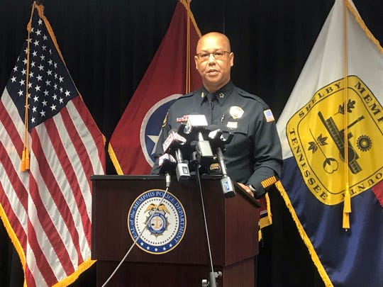 Memphis Police Director Mike Rallings addresses unrest from a U.S. Marshal officer-involved shooting that took place in the Frayser neighborhood on June 12, 2019.