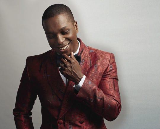 "Tony Award-winning ""Hamilton"" star Leslie Odom Jr. performs June 28 at the Orpheum."