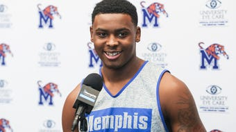 Memphis freshman D.J. Jeffries spoke to reporters Tuesday about embracing the target on the Tigers' back.