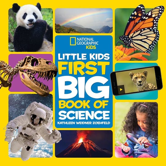 """Little Kids First Big Book of Science"" by Kathleen Weidner Zoehfeld."