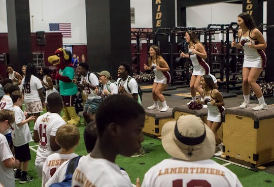 MedCamps of Louisiana visited University of Louisiana at Monroe on June 18.