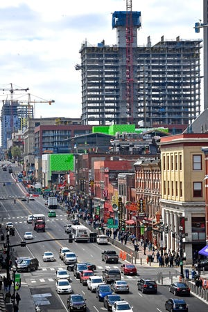 """Expect several road closings in downtown Nashville this week as the city prepares for its annual """"Let Freedom Sing!"""" celebration."""