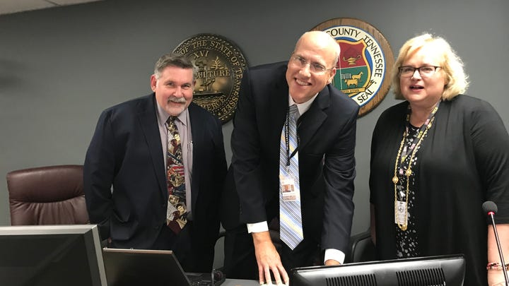Jason Golden takes the helm as Williamson County Schools superintendent