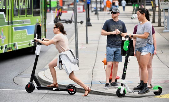 A selection process begins in a few months to choose up to three electric scooter companies to operate in the city.