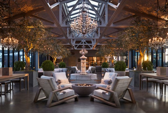 RH — formerly Restoration Hardware — recently opened a 70,000-square-foot design gallery at The Mall at Green Hills complete with a cafe, wine bar and barista bar. It's part of a major overhaul of the mall that includes new and remodeled retail shops and additional parking.