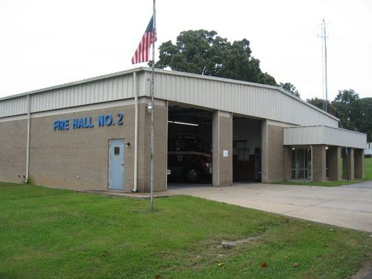 The City of Dickson's fire station No. 2.