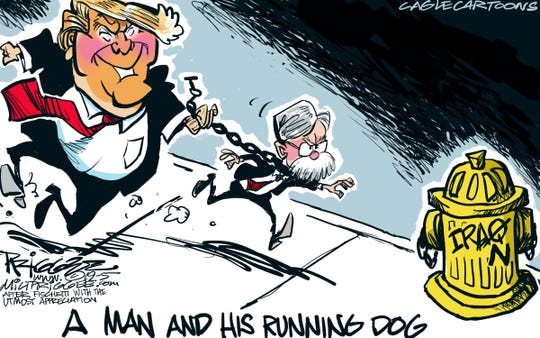 trump, bolton and iran