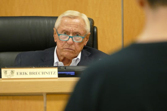 Marco Island City Council Chairman Erik Brechnitz was dismayed by the light punishment doled out by the Criminal Justice Standards and Training Commission to a former Marco Island police officer who had sex on duty.
