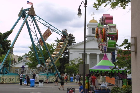 This year's Granville Kiwanis Fourth of July festival will run July 3-6, with fireworks the evening of July 5.
