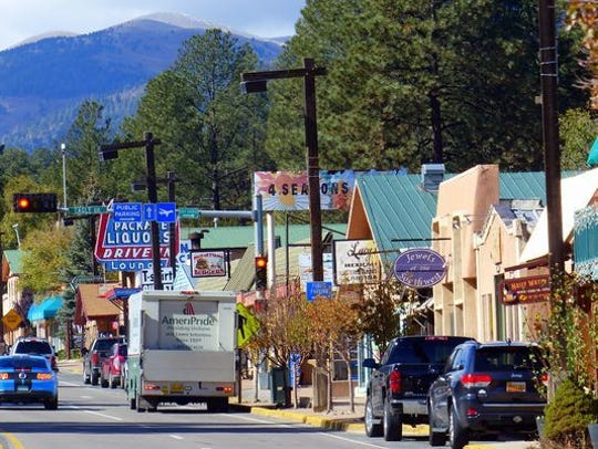 Midtown Ruidoso is one of the major hubs of small businesses in Lincoln County.