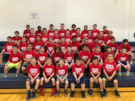 Livonia Franklin is hosting a basketball camp this month.