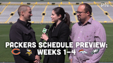 Jim Owczarski, Olivia Reiner and Ryan Wood discuss the first four games of the Packers' regular season schedule.