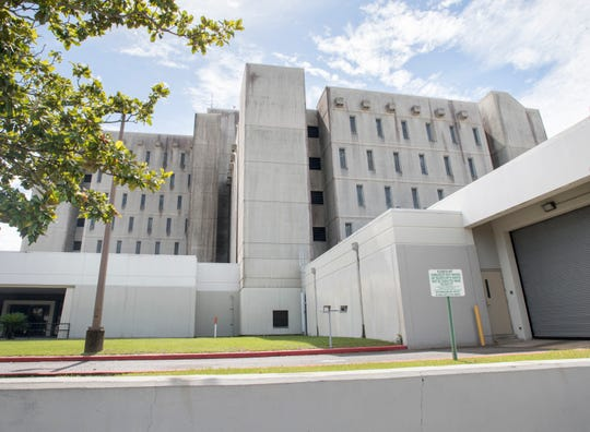 The Escambia County Jail in Pensacola on Tuesday, June 18, 2019.