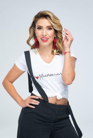 Andrea Escalona disfruta de ser parte del matutino más longevo de la televisión mexicana.