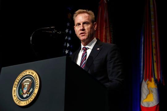 Patrick Shanahan deja el liderazgo en el Pentágono.
